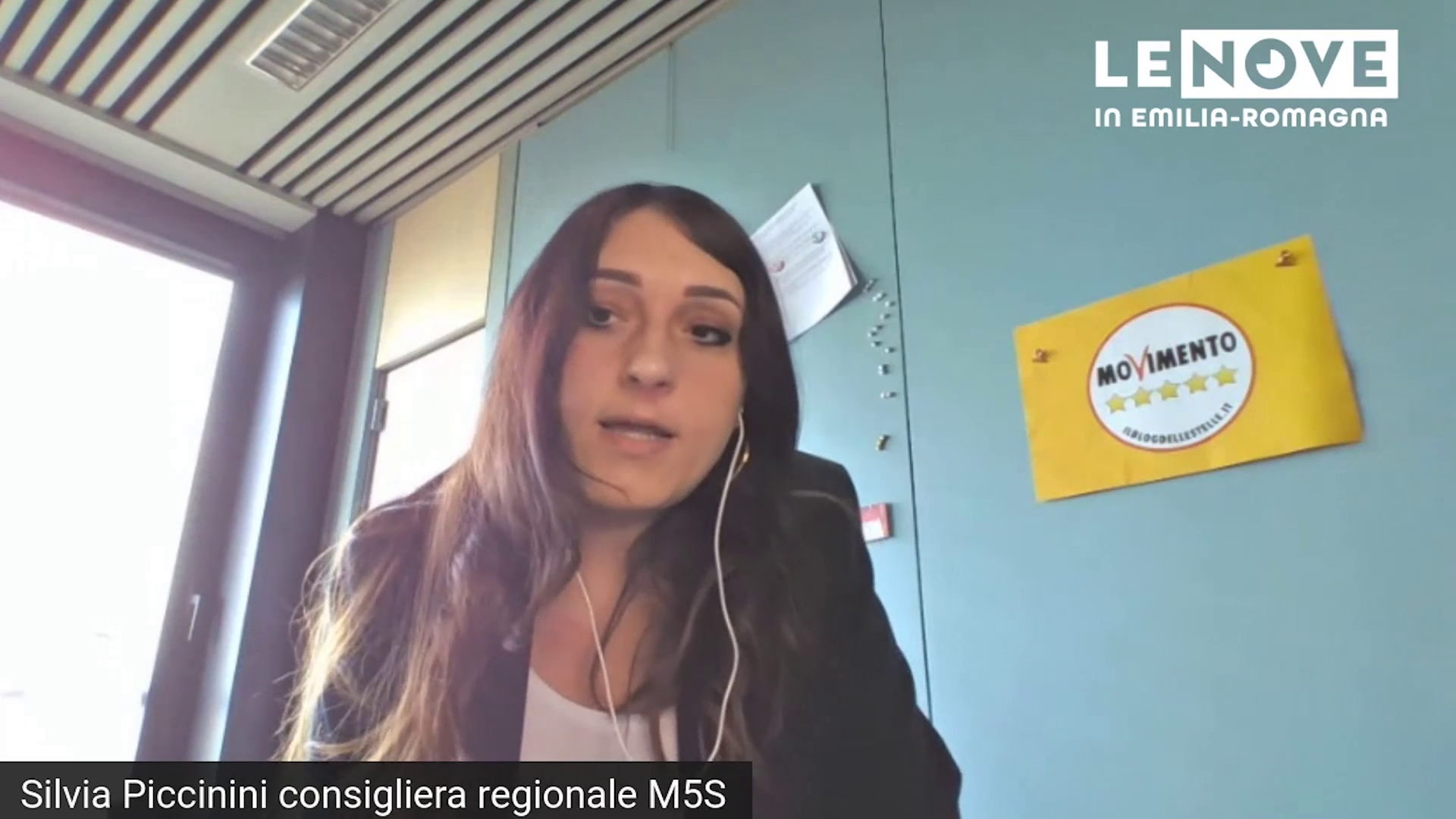 LE NOVE con Silvia Piccinini 15/03/2021