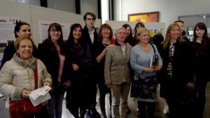 Foto di gruppo con insegnanti