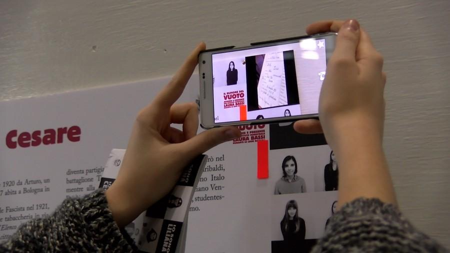 la app della mostra