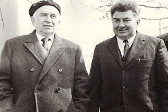 Emilio Pecorari (a destra)