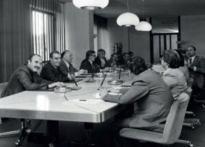 1970-La prima giunta regionale presieduta da Guido Fanti