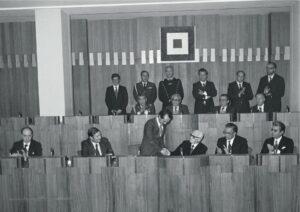 1979- Il Presidente della Repubblica Sandro Pertini in visita al Consiglio