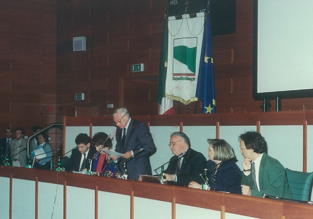 1992- Il Consiglio apre ai giovani - L'intervento del presidente Federico Castellucci