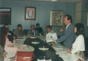 1995-Visita di una delegazione del Vietnam